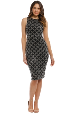 Madame X - Mahsa Dress - Black - Front
