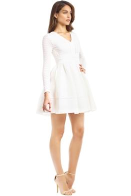 Maje - Rossignol Dress - White - Side