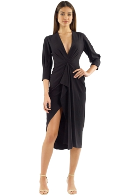 Manning Cartell - Free Fall Dress - Black - Front