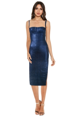 Manning Cartell - Moonscape Dress - Blue - Front