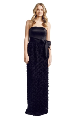 Matthew Eager - Poodle Ball Gown - Front - Black