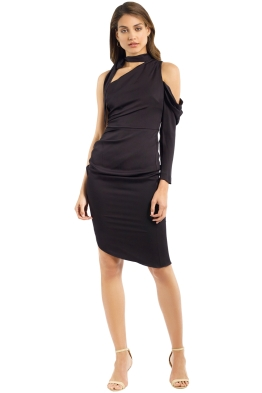 Milly - Coleen Dress - Black - Front