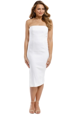 Milly - Eva Dress - White - Front