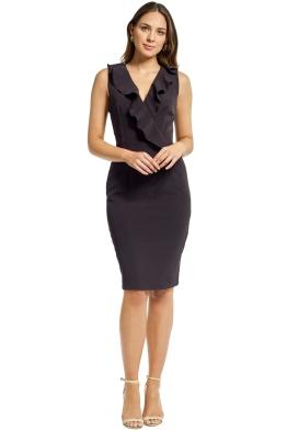 Milly - Luna Dress - Black - Front