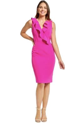 Milly - Luna Dress - Raspberry - Front