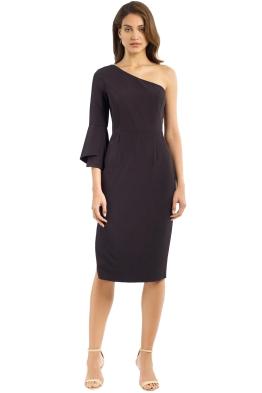 Milly - Sadrine Dress - Black - Front