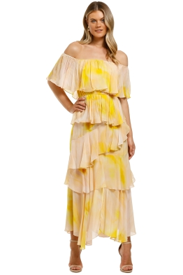 Ministry-of-Style-Essence-Off-The-Shoulder-Dress-Print-Front