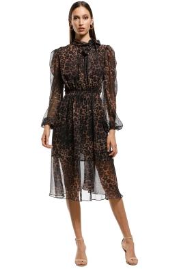 Misha-Collection-Sofia-Dress-Leopard-Front