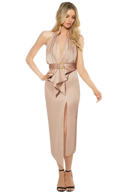 Misha Collection - Carrie Dress - Nude - Front