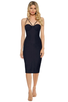 Misha Collection - Felicienne Dress - Black - Front