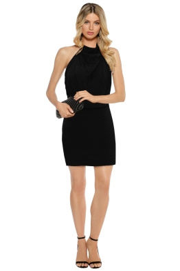 Misha Collection - Kasa Dress - Black - Front