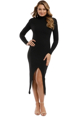 Misha Collection - Noah Dress - Black - Front