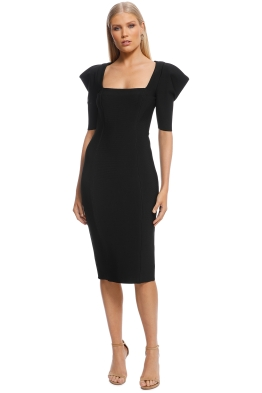 Misha Collection - Roxanne Dress - Black - Front