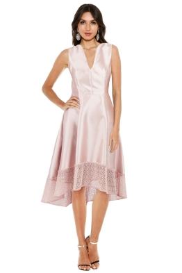 Montique - Chantelle Party Dress - Pink - Front