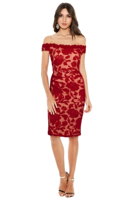 Montique - Christiana Lace Dress - Front