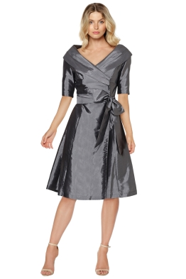 Montique - Veronica Taffeta Dress - Front