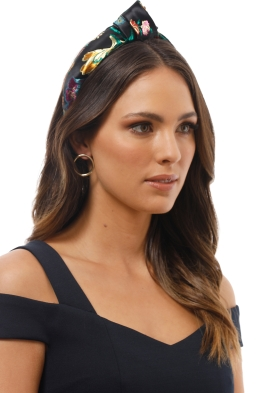 Morgan and Taylor - Nova Turban - Black - Product Image