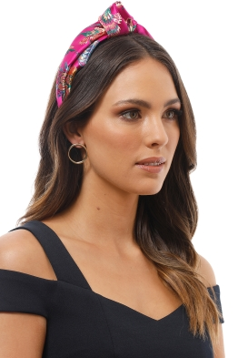Morgan and Taylor - Nova Turban - Fuschia - Product Image