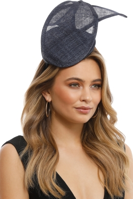 Morgan & Taylor - Ramona Fascinator - Navy - Front