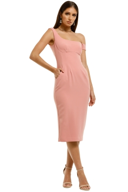 Moss-and-Spy-Bella-Shift-Dress-Pink-Front