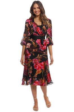 Moss and Spy - Eliza Dress - Multi - Front