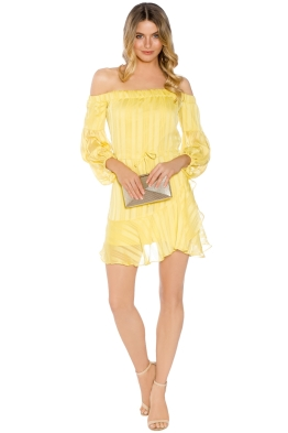Mossman - Liar Liar Dress - Yellow - Front