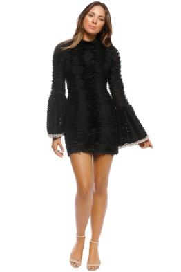 Mossman - Prim And Proper Dress - Black - Front