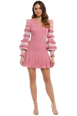 Mossman - The Revolution Dress - Pink - Front