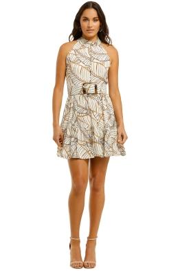 Nicholas-Selima-Dress-Vintage-Palm-Ivory-Front