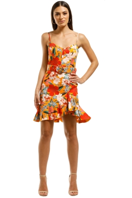 Nicholas-The-Label-Arielle-Frill-Dress-Poppy-Front
