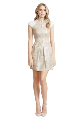 Nicola Finetti - Arctic Dress - Front - Gold