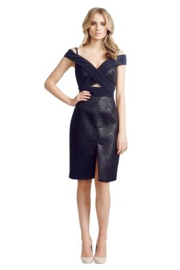 Nicola Finetti - Origami Dress - Front - Black