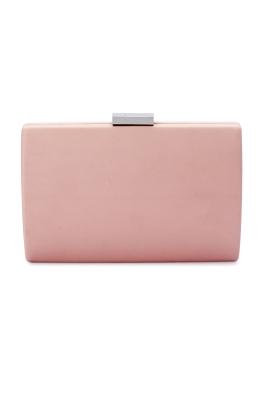 Olga Berg - Adley Oversized Pod - Pale Pink - Front