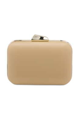 Olga Berg - Khloe Rounded Rectangle Pod - Natural - Front