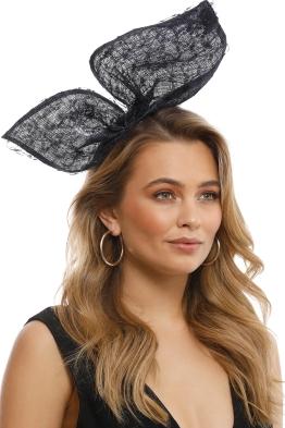 Olga Berg - Monique Lace Bow - Navy - Model
