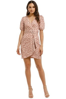 Pasduchas-Saskia-Waterfall-Dress-Leopard-Front