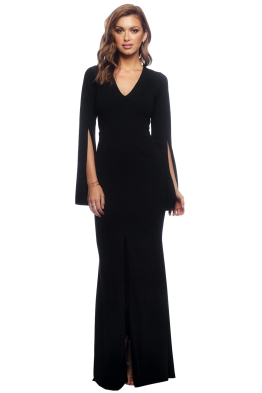 Amaryllis Gown - Black - Front