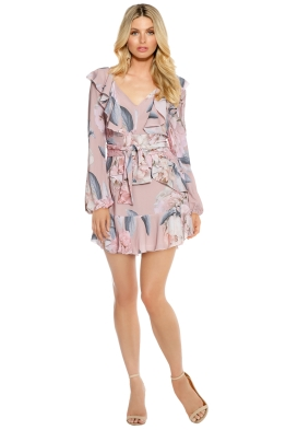 Pasduchas - Clementine Flip Dress - Blush - Front