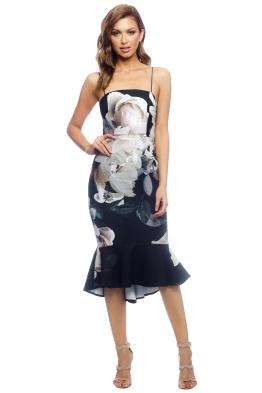 Pasduchas - Clover Midi Dress - Black - Front