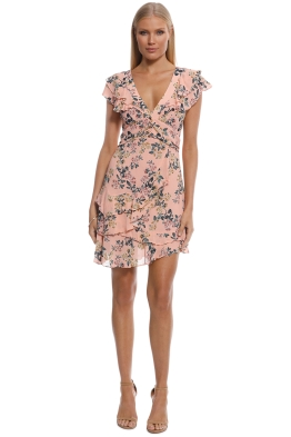Pasduchas - Honarary Dress - Coral - Front
