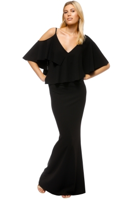 Pasduchas - Irreplaceable Gown - Black - Front