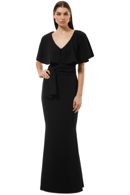 Pasduchas - Mrs Carter Gown - Black - Front