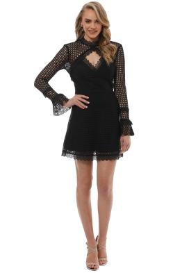Pasduchas - Reign Dress - Black - Front
