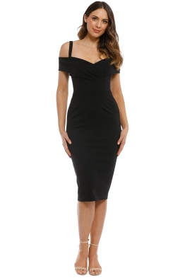 Pasduchas - Riviera Midi Dress - Black - Front