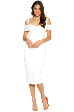 Pasduchas - Riviera Midi Dress - Ivory - Front