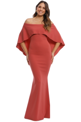 Pasduchas - Composure Gown - Tuscan Rose - Front