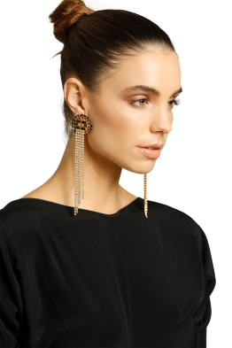 Peter Lang-Belita Earrings-Blue-Gold-Product
