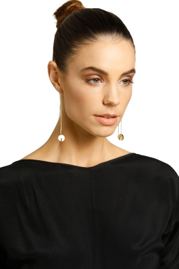 Peter Lang-Marissa Thread Earring-Gold-Product