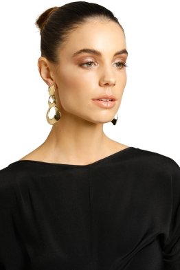 Peter Lang-Rasa Earrings-Gold-Product