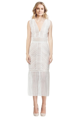 Rachel Gilbert - Daysi Maxi Dress - Ivory - Front
